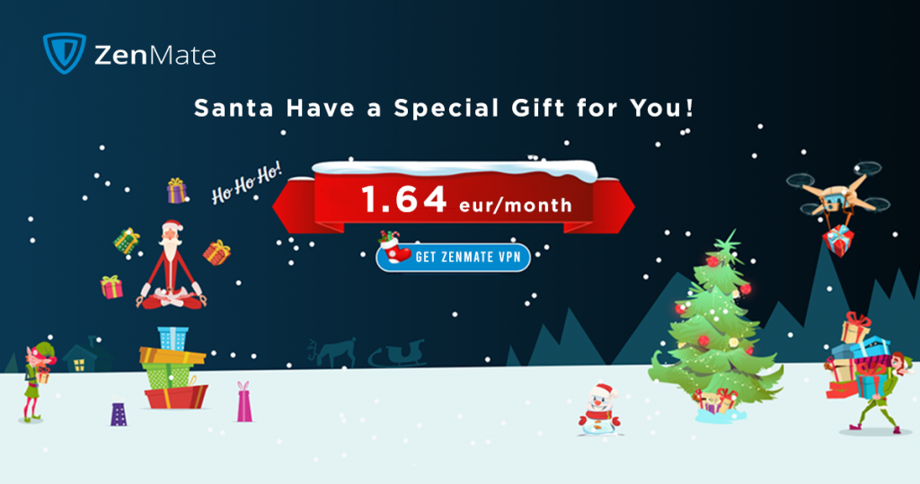 Zenmate VPN Christmas Deal
