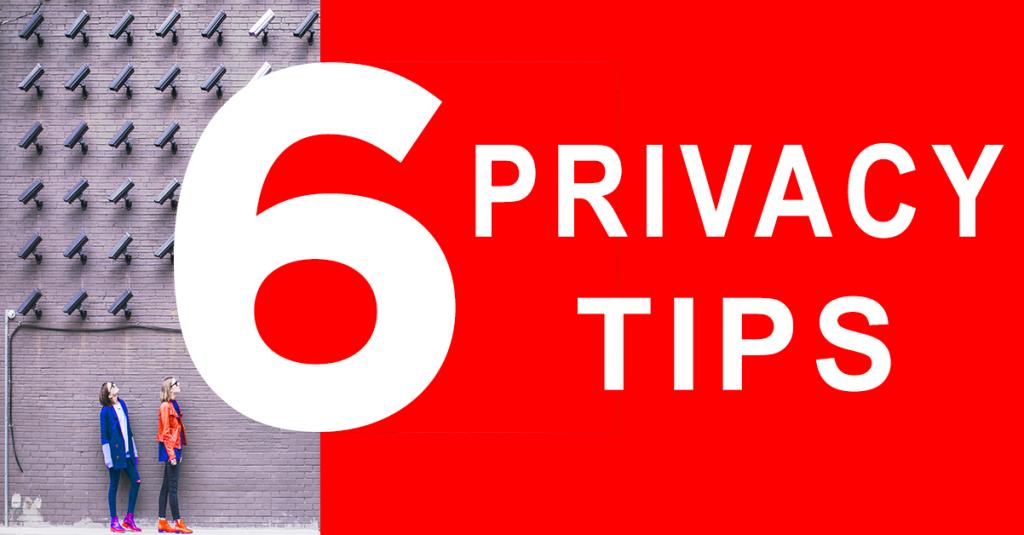 6 TIPS om jouw online privacy te beschermen