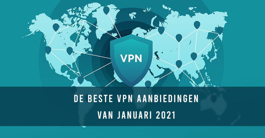 De beste VPN aanbiedingen van januari 2021