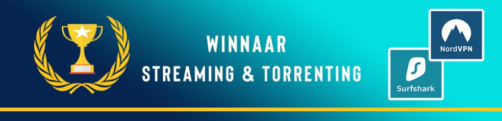 Surfshark vs NordVPN: streaming & torrenting