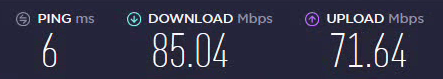 ExpressVPN Download Speed (NL server)