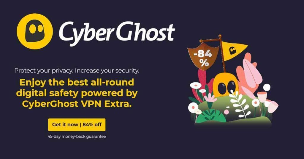 CyberGhost pasen deal 2021