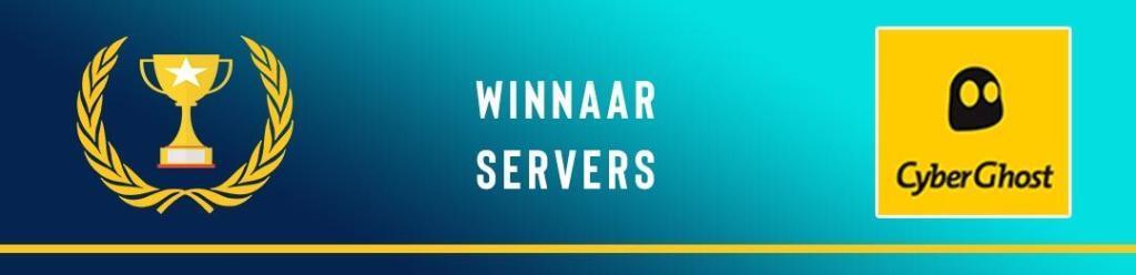 NordVPN vs CyberGhost - servers