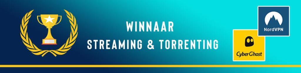 CyberGhost vs NordVPN: streaming en torrenting